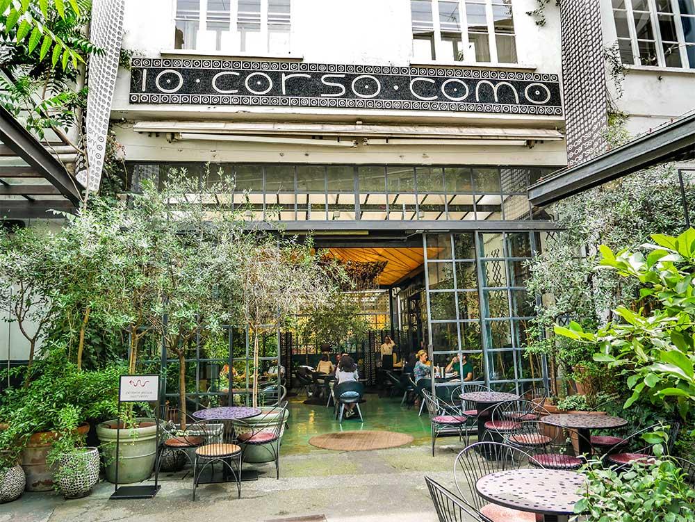 10 Corso Como Milan, Italy - best restaurants