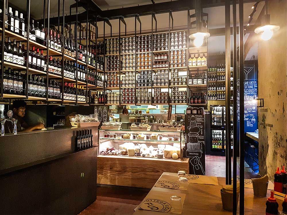 Fud bottega sicula Milan, Italy - best restaurants