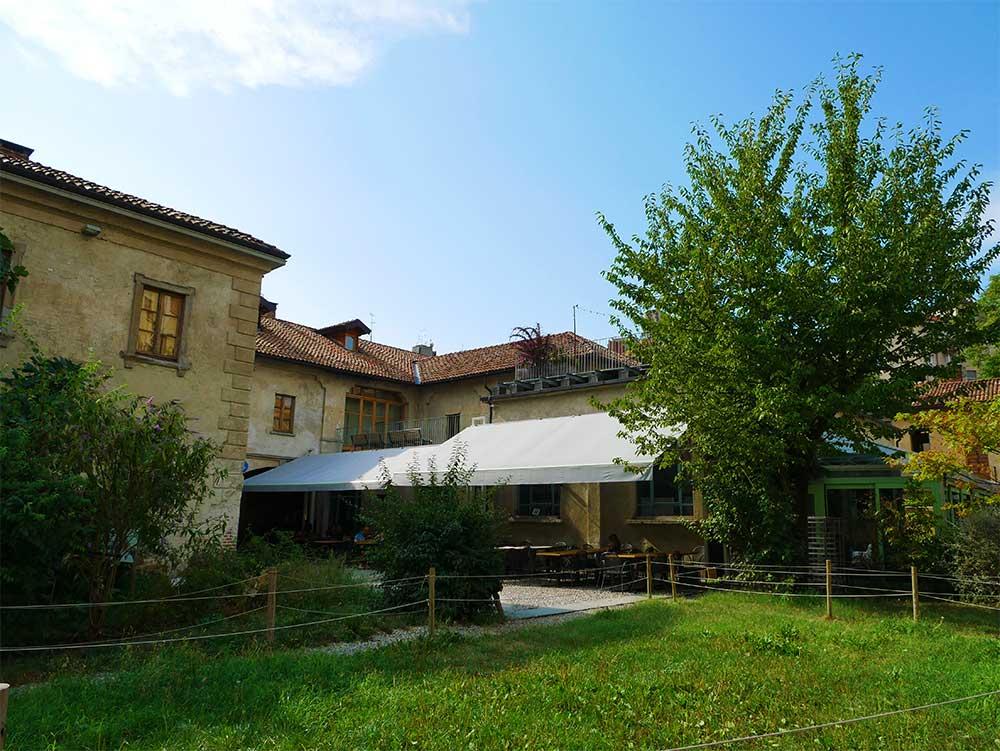 Un posto a Milano, garden