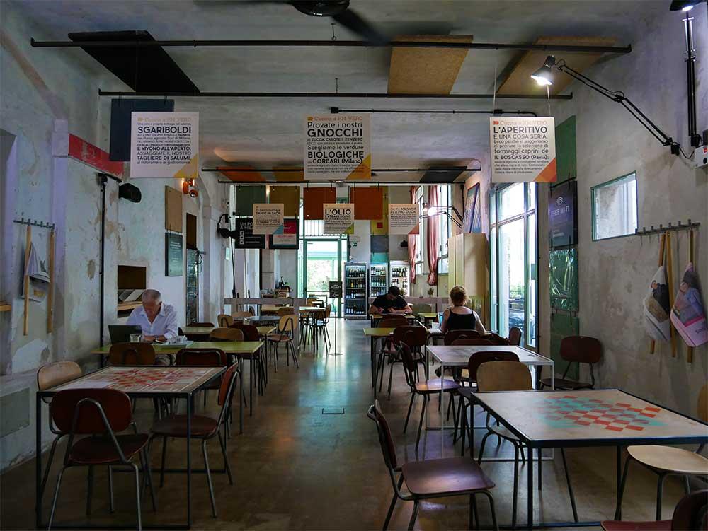 Un posto a Milano - wifi area
